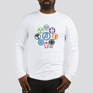 Avengers Icons Long Sleeve T-Shirt