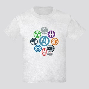 Avengers Icons Kids Light T-Shirt