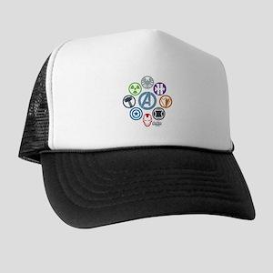 Avengers Icons Trucker Hat