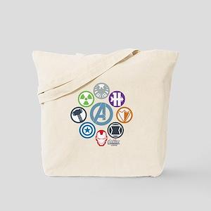 Avengers Icons Tote Bag