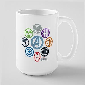 Avengers Icons Large Mug