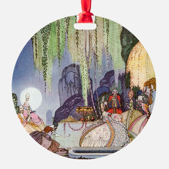 Cinderella Leaves at Midnight by Kay Nielsen Ornament