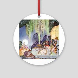 Cinderella Leaves at Midnight by Kay Nielsen Ornam