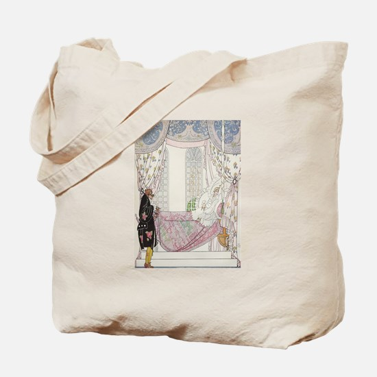 The Sleeping Fairy Tale Prince Tote Bag