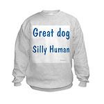 Silly Human Kids Sweatshirt