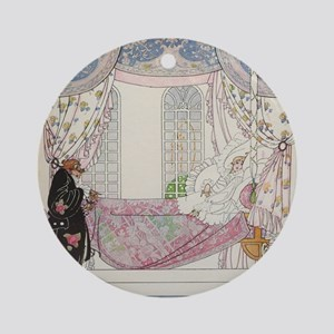 The Sleeping Fairy Tale Prince Ornament (Round)
