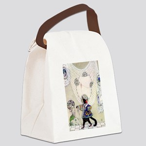 Puss In Boots by Kay Nielsen Canvas Lunch Bag