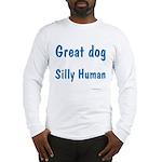 Silly Human Long Sleeve T-Shirt