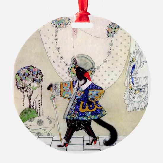 Puss In Boots by Kay Nielsen Ornament