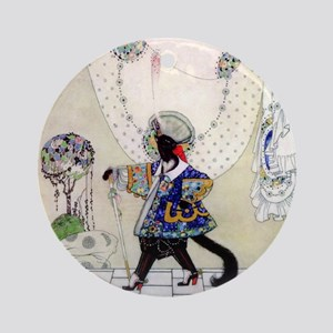 Puss In Boots by Kay Nielsen Ornament (Round)