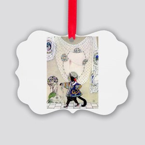 Puss In Boots by Kay Nielsen Picture Ornament
