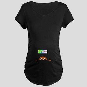 Oops...(Dark Skin) Maternity T-Shirt