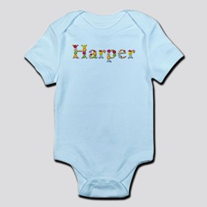 Harper Bright Flowers Body Suit