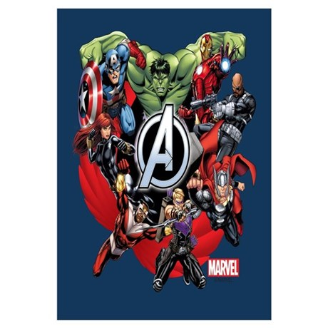 Avengers Group Wall Art  sc 1 st  CafePress & Marvel Wall Art - CafePress