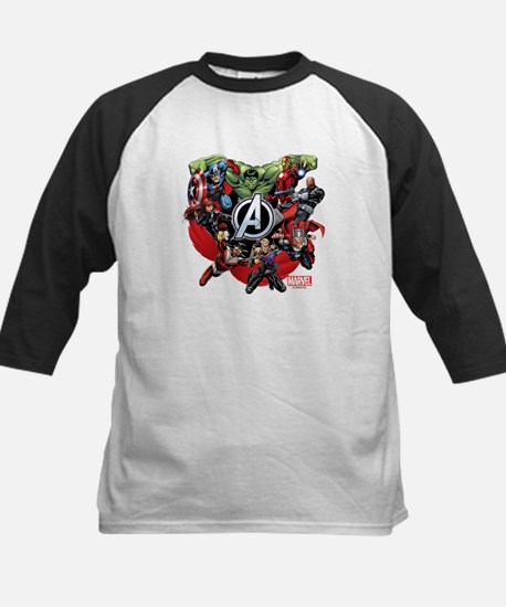 Avengers Group Kids Baseball Jersey