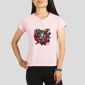 Avengers Group Performance Dry T-Shirt