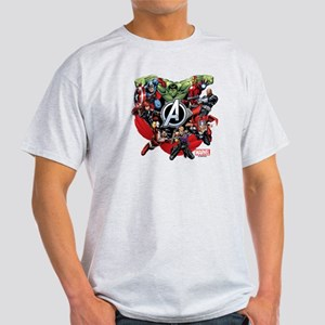 Avengers Group Light T-Shirt