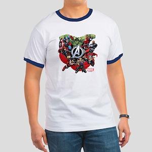 Avengers Group Ringer T