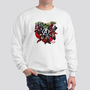 Avengers Group Sweatshirt