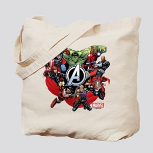 Avengers Group Tote Bag