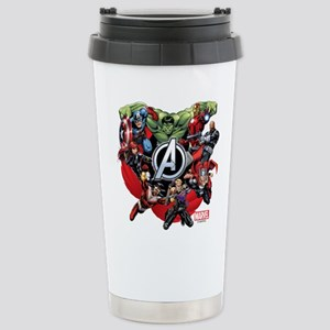 Avengers Group Stainless Steel Travel Mug