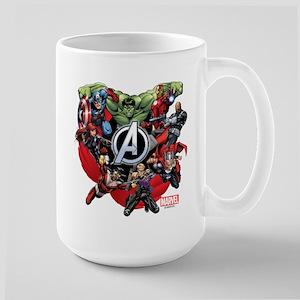 Avengers Group Large Mug