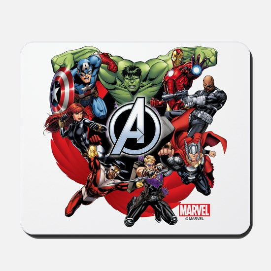 Avengers Group Mousepad