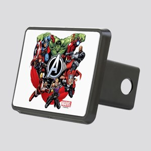 Avengers Group Rectangular Hitch Cover