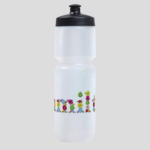 Hamilton Bright Flowers Sports Bottle