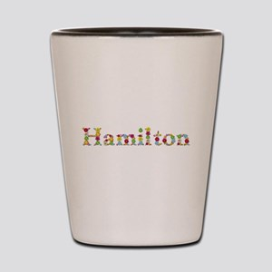 Hamilton Bright Flowers Shot Glass