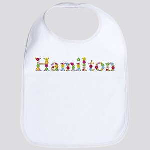 Hamilton Bright Flowers Bib