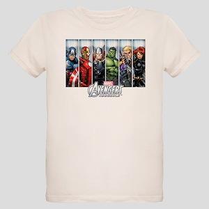 Avengers Assemble Organic Kids T-Shirt