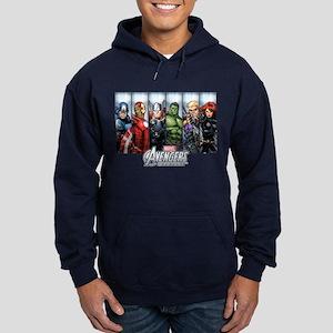Avengers Assemble Hoodie (dark)