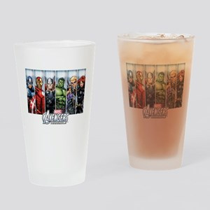 Avengers Assemble Drinking Glass