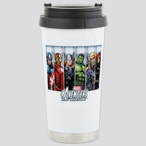 Avengers Assemble Stainless Steel Travel Mug