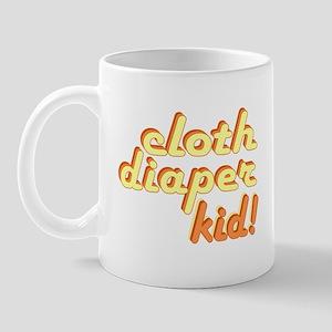 Cloth Diaper Kid Mug