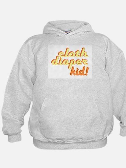 Cloth Diaper Kid Hoodie