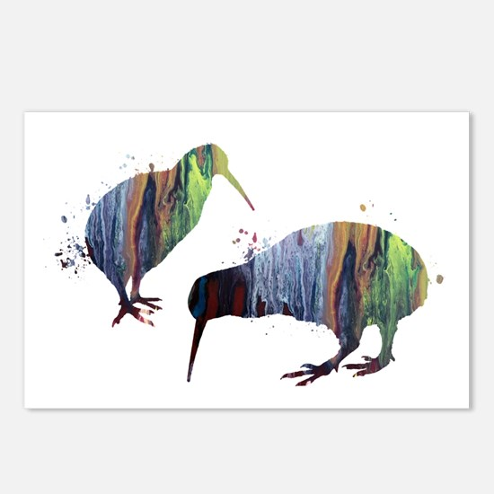 Kiwi birds Postcards (Package of 8)