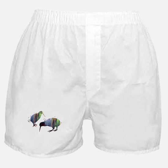 Kiwi birds Boxer Shorts