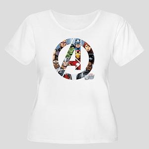 Avengers Asse Women's Plus Size Scoop Neck T-Shirt