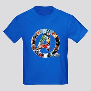 Avengers Assemble Kids Dark T-Shirt