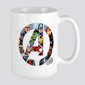 Avengers Assemble Large Mug