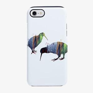 Kiwi birds iPhone 7 Tough Case