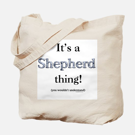 Shepherd Thing Tote Bag