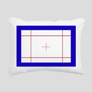 Trampoline Bed Rectangular Canvas Pillow