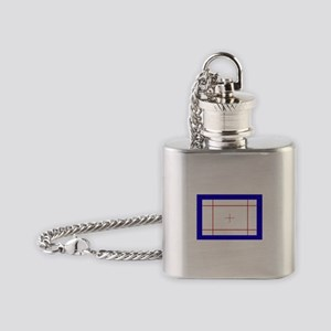 Trampoline Bed Flask Necklace