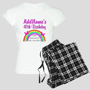 DELIGHTFUL 40TH Women's Light Pajamas