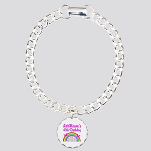 DELIGHTFUL 40TH Charm Bracelet, One Charm