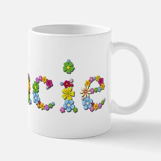 Gracie Bright Flowers Mugs