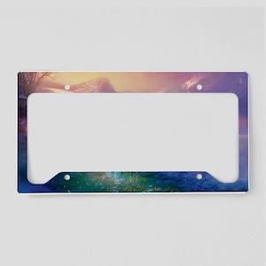 Paradise License Plate Holder